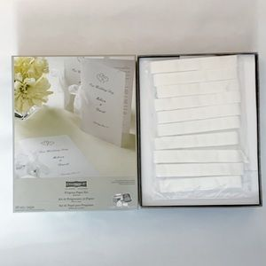 Celebrate It Program Paper Kit Wedding Invitation - 100 Sets